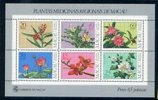 Macau MiNr. Block 1 postfrisch MNH Blumen (Blu467