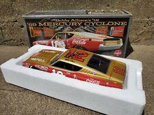 University Of Racing Legends Bobby Allison Signed 1969 Mercury Cyclone 1:24 Car