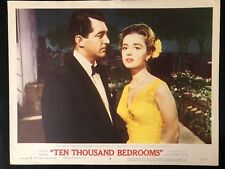 GENUINE VINTAGE 1957 DEAN MARTIN 'TEN THOUSAND BEDROOMS' LOBBY CARD