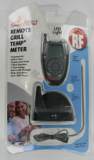 New Smart BBQ Remote Grill Temp Meter - Up to 100' Range - LED Light