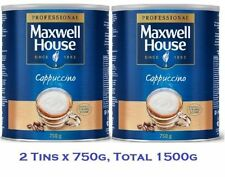 Maxwell House Instant Cappuccino, 750g Pack of 2