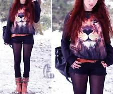 Animal Print Long Sleeve Hand-wash Only Casual Tops & Blouses for Women