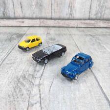 HERPA - 1:87 - Konvolut Citroen 2 CV 6, Audi Cabrio, Fiat Cinquecento -#Q19006