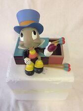NEW Disney Parks Pinocchio's JIMINY CRICKET on Matchbox Figurine NIP GIFT
