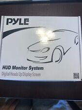 Pyle PHUD12 Vehicle Speed And Gps Compass Monitor Heads Up Display