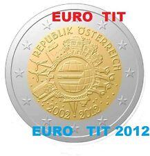 2 €   AUTRICHE  COMMEMORATIVE    1  X  PIECE    2012    NEUVE   /     disponible