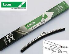 """LUCAS lwcl 004 Acciaio inox Spazzole 10"""" 5mm, a baionetta per mini ecc. GWB219"""