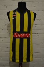 NIKE Basketball Size S FENERBAHCE AUTH GAME JERSEY SHIRT 633689