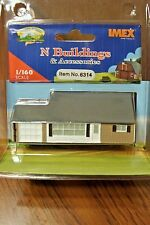 IMEX N SCALE LEVITTOWN JUBILEE HOUSE BUILT-UP BUILDING