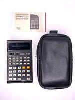 Casio scientific calculator fx-101 vintage TESTED w/ case Japan