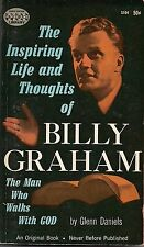 THE INSPIRING LIFE AND THOUGHTS OF BILLY GRAHAM 1961 PBO PAPERBACK LIBRARY S104