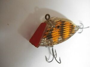 "South Bend Optic Lure, Patent Pending, 2 1/4"" Orange and Black"