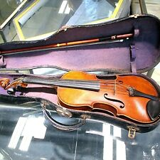 Vintage Exquisite 1920's German Violin With Bow in Case