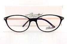 543e81dede New Silhouette Eyeglass Frames TITAN ACCENT FULLRIM 1578 9020 Black Women  SZ 56