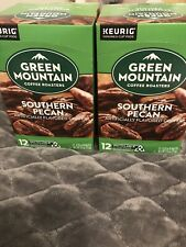 Green Mountain Southern Pecan Coffee Keurig K Cups 24 count Expires 26MAR2022