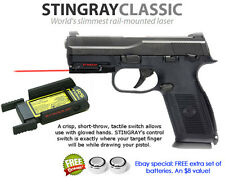 ArmaLaser Stingray RED LASER Sight for FN Guns with Rails: Five-seveN, FNS, FNX