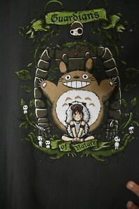 Studio Ghibli Guardians of Nature t-shirt Totoro San Godama