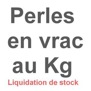 Lot de 2 kg de perles et apprêts(Déstockage, Liquidation de stock, voir descrip)