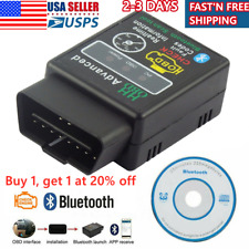 Car Bluetooth OBD2 Reader Code Scanner Automotive Diagnostic Tool OBDII ELM327