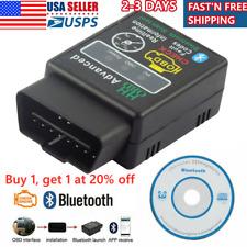 Car Bluetooth OBD2 Reader Code Scanner Automotive Diagnostic Tool OBDII ELM327