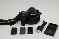 Nikon D810 36.3 MP Digital SLR Camera (With 3 batteries and charger) 212k count