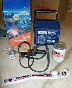 Vintage Montgomery Ward 5000 Degree Welding Torch Kit