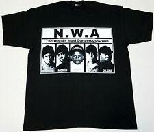 NWA T-shirt N.W.A. Compton South Central LA Tee Men's 2XL New