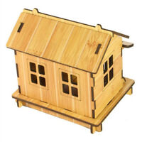DIY House Model Puzzle Toys Children Wooden Intelligence Educational Toy Gift DB
