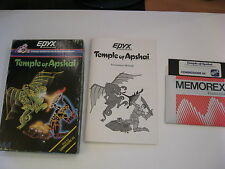 TEMPLE OF APSHAI COMMODORE C64 GAME STATERGY GAME EPYX
