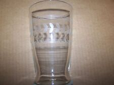 Vintage cut glass drinking glass lot of 6
