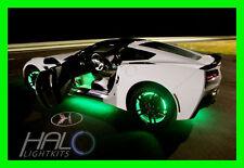 ORACLE GREEN LED Wheel Lights FOR NISSAN MODELS Rim Lights Rings (Set of 4) 1