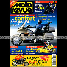 MOTO REVUE N°3186 GUZZI 1100 CALIFORNIA HARLEY 1340 ULTRA CLASSIC HONDA GL 1500