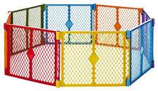 BRAND NEW! North States Superyard Lightweight and Portable Play Yard (8 Panels)