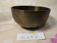 "SAHARI 3.642"" Japanese Vintage Buddhist Bell G257 Standard Wavelengths"