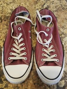 Converse CHUCK TAYLOR  All Star Sneakers - MAROON - Mens 13