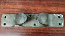 Antique Solid Bronze Bow Chock 14""