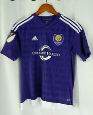 Adidas Orlando City FC MLS Soccer/Futbol Jersey Size Youth M