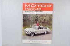 Motor Revue Europa Motor Ausgabe 47 Herbstausgabe 1963