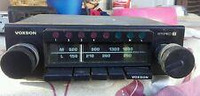 Voxson autoradio boccanera stereo 8 per auto d'epoca