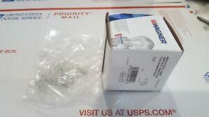 Box of 10 #168 Lamp Auto Bulb Automotive Lightbulbs WAGNER EIKO