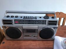 vintage Sanyo 4 band stereo radio cassette recorder M9927LG (Ghetto/boombox)