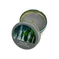 CANDELA PROFUMATA INCENSO fragranced delicato CASCATA Salco piccolo stagno portatile