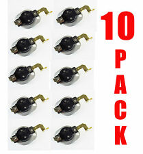 10 PACK -  3977767 3399693 Hi Limit Thermostat Replaces Whirlpool Kenmore Dryer