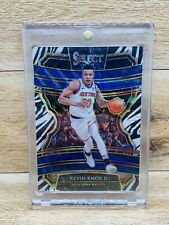 Kevin Knox 19-20 Panini Select ZEBRA PRIZM Knicks