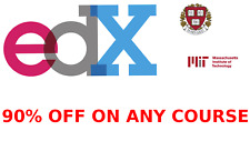 EDX 90% OFF ANY COURSE COUPON - E-LEARNING ONLINE MOOCS EDX.ORG MIT HARVARD