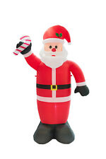 7.9ft Christmas Inflatable Yard Decor Santa Claus Mall Garden Airblown Ornaments