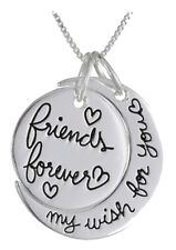 Friends Forever My Wish For You Friendship Necklace Love Gift Graduation Gift