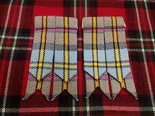Kilt écossais flashs MacLeod de Harris écossais/CHAUSSETTES POUR / Broche