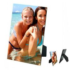 Personalised Any Photo Design Added MDF Photo Panel 5'' x 7'' with Easel