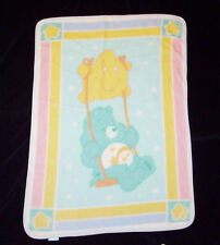 Care Bears Wish Swing Plush Baby Toddler Blanket Security Lovey 2004